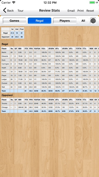 Basketball Stat Tracker Live screenshot-8