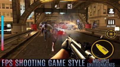 Zombie Killer: Last WORLD 2 screenshot one