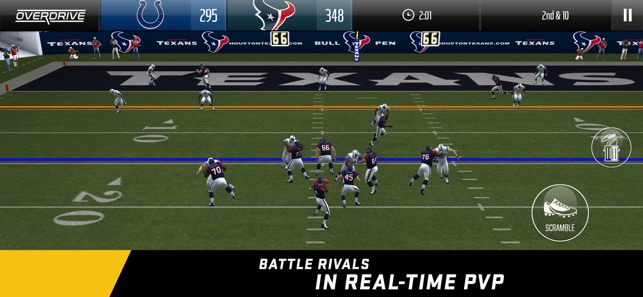 madden nfl overdrive football on the app store