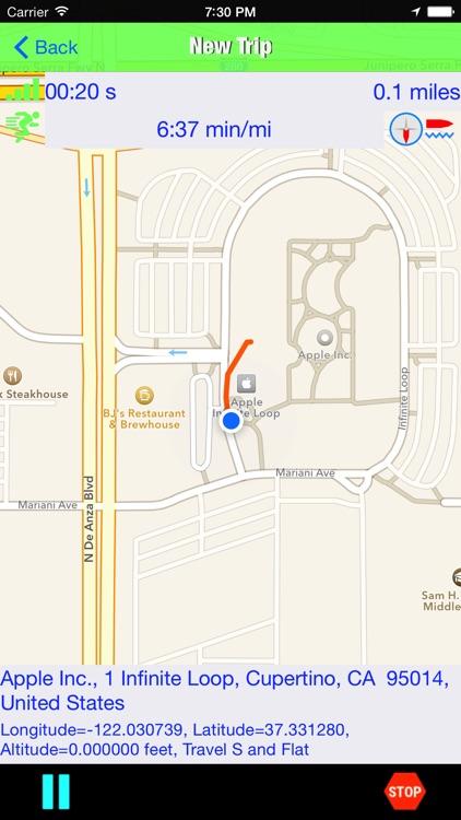 Trip Tracker GPS Professional screenshot-8