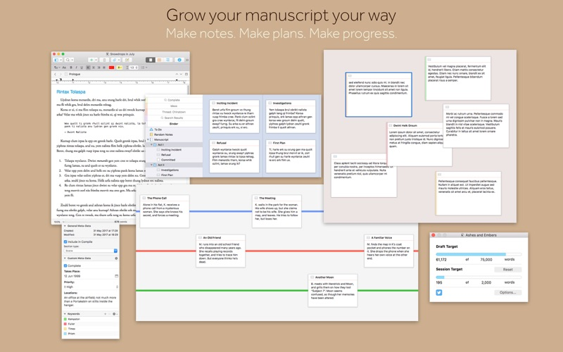 Scrivener 3 app
