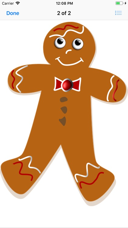 Gingerbread Stickers screenshot-3
