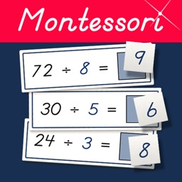 Montessori Division Tables