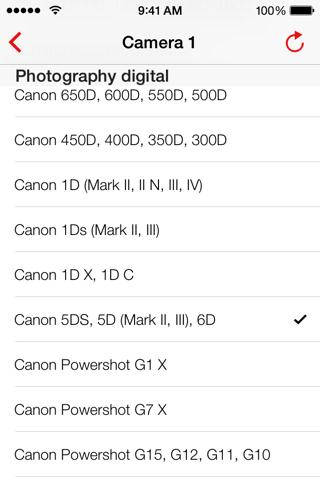 Simple DoF Calculator screenshot 3