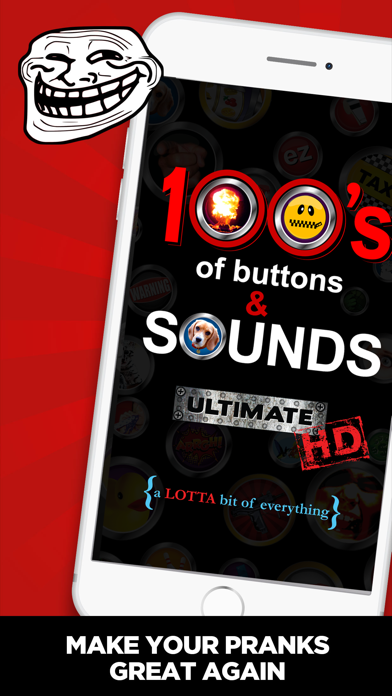 Top 10 Apps like +100 Buttons and Sound Effects in 2019 for iPhone
