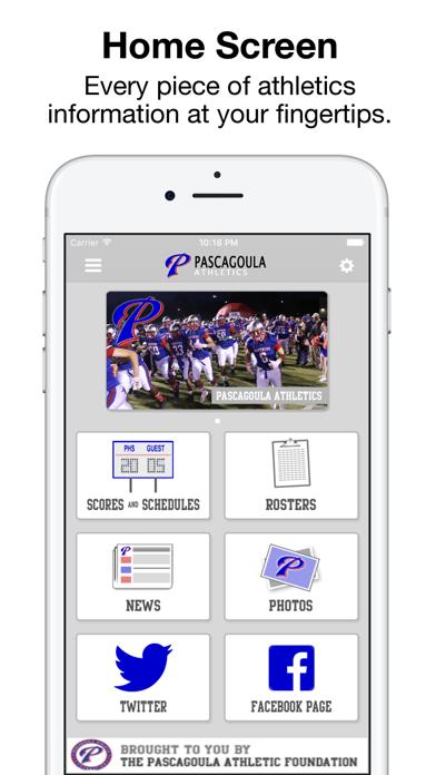 Pascagoula Athletics screenshot 2