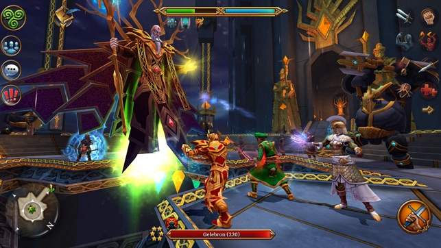 3d mmo celtic heroes on the app store
