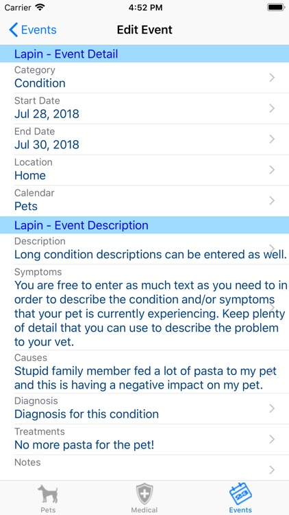 myPetCare screenshot-5