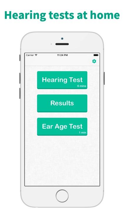 Hearing Test & Ear Age Test