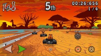Screenshot from Wacky Wheels HD Kart Racing