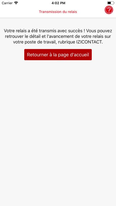 Izicontact screenshot three