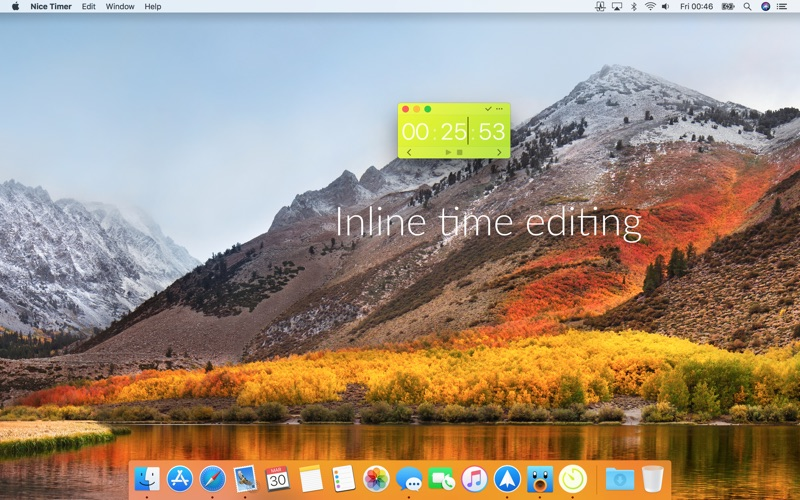 Nice Timer 3: desktop timers for Mac