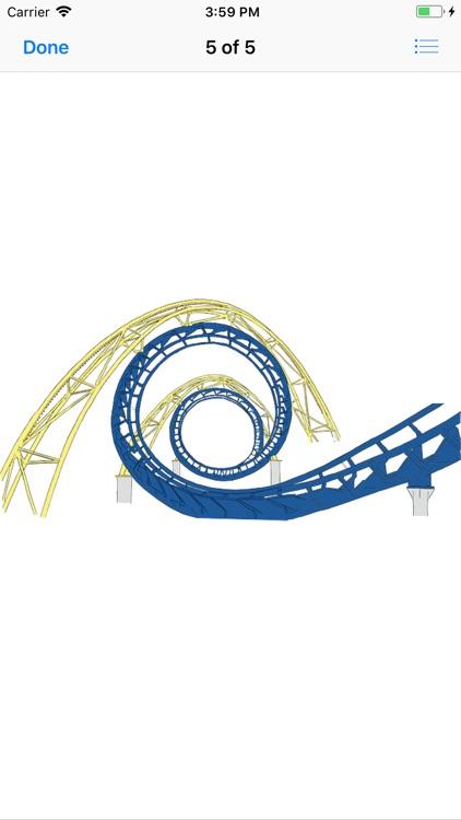 Roller Coaster Stickers screenshot-5