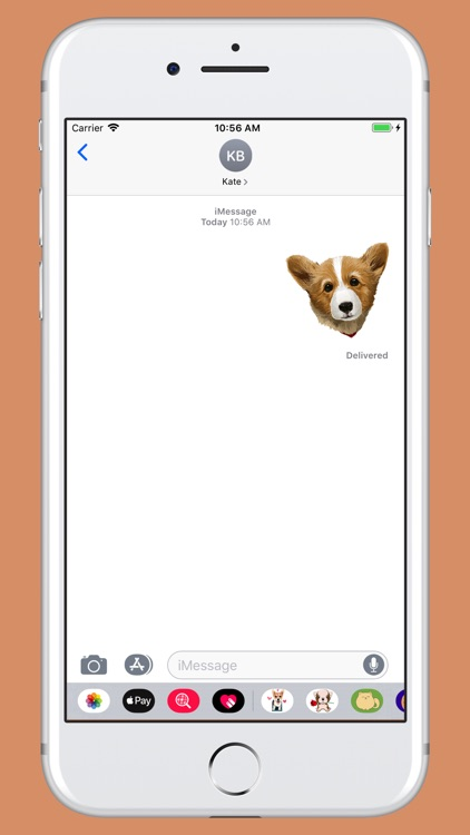 Corgi - cute dog stickers screenshot-4