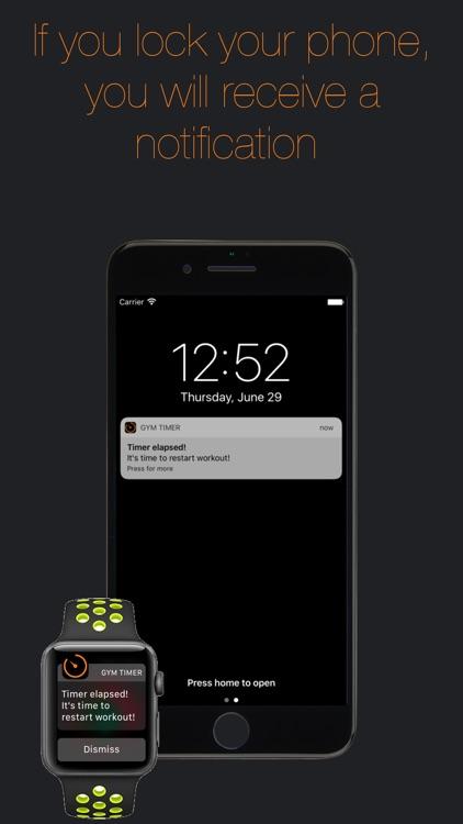 Gym Timer-Timer for rest time screenshot-3