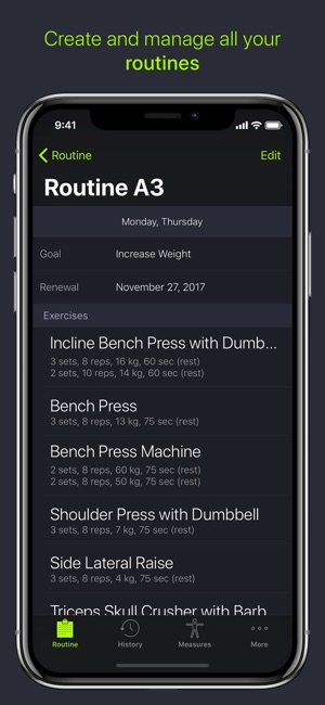 SmartGym: Manage Your Workout Screenshot