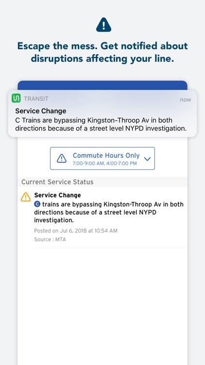 Transit • Bus & Subway Times screenshot-4