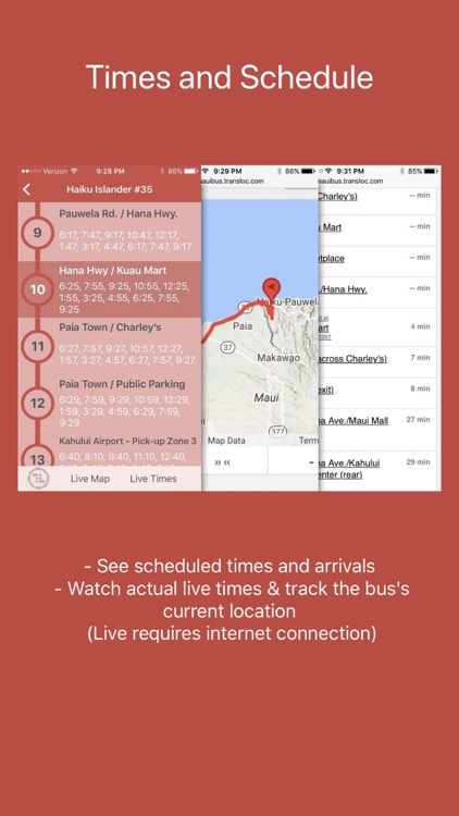 Maui Bus Routes screenshot-3