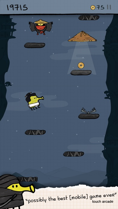 Screenshot for Doodle Jump in China App Store