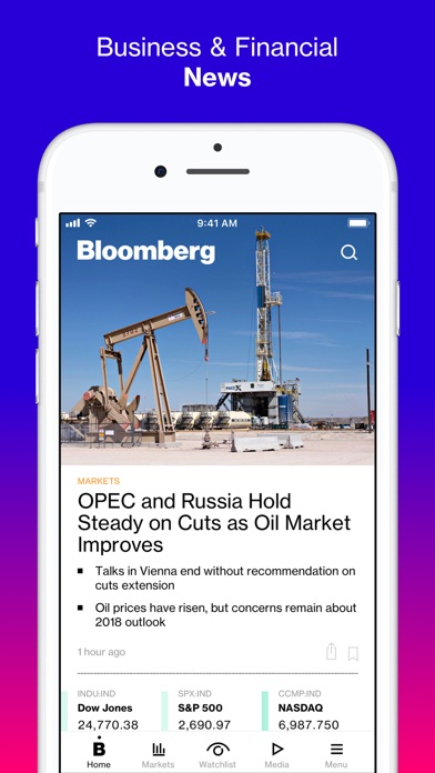 Bloomberg: Business News iPhone