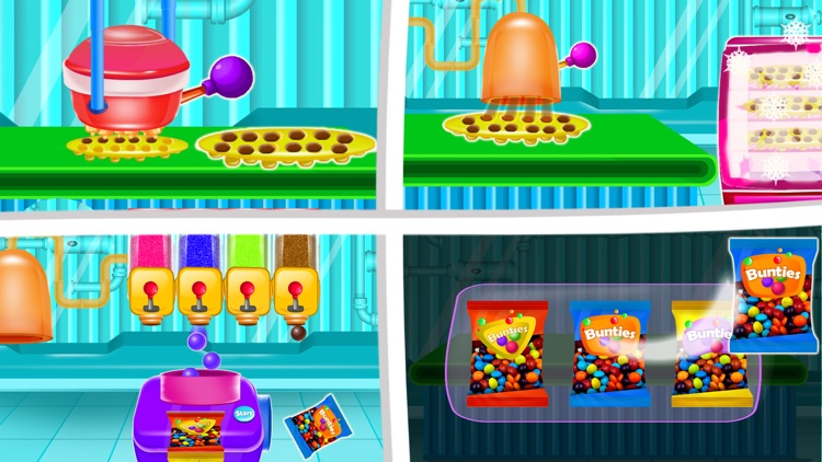 Tasty Candy Chocolate Factory screenshot-3