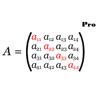 行列の数学の計算プロ