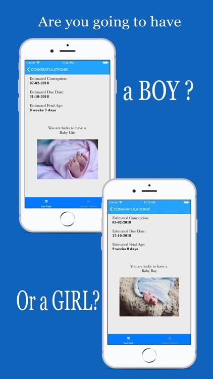 Baby Gender Predictor boy\girl