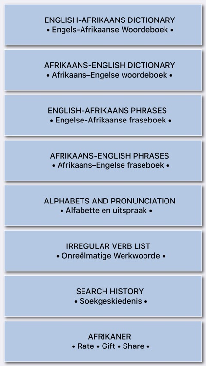Great English-Afrikaans Dict.