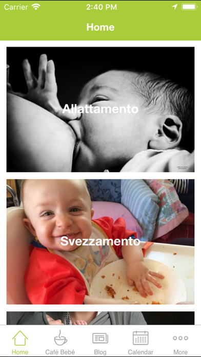 Breastfeeding and Weaning screenshot two