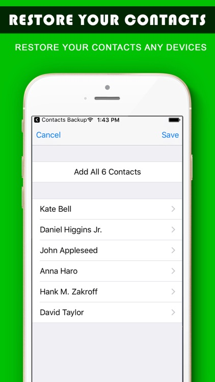 My Contact Backup -Easy Backup screenshot-4