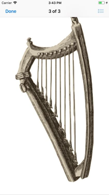 Heavenly Harp Stickers screenshot-3