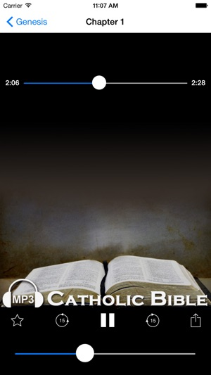 Audio Catholic Bible on the App Store