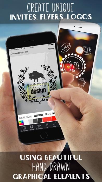 手描きグラフィックデザイン