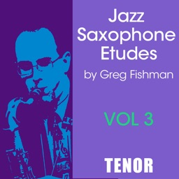 Jazz Sax Etudes Vol 3 Tenor