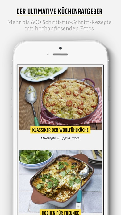 Screenshot for Jamies Rezepte in Germany App Store