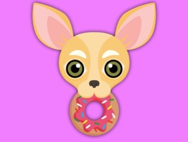 Animated Fawn Chihuahua