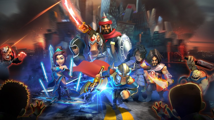 Clash of Empires: Zombies War screenshot-4