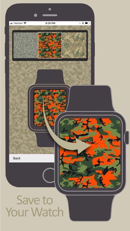 Camouflage Yo Watch! - Faces screenshot-4