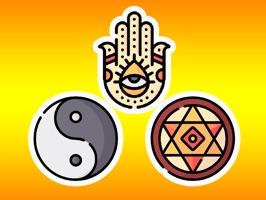 Esoteric Symbol Stickers