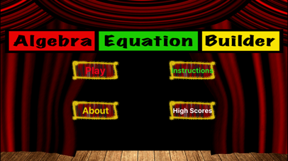 Algebra Equation Builder