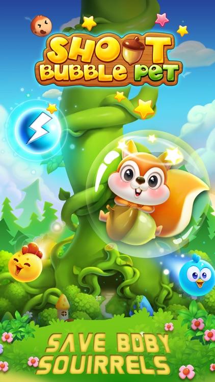Bubble Shoot Pet screenshot-0