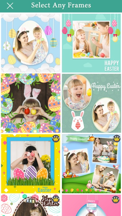 Easter Photo Frame Collage App screenshot two