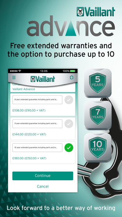 Vaillant Advance screenshot one