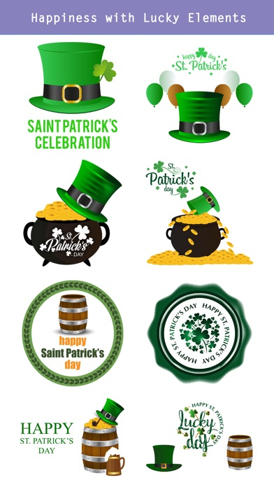 St.Patrick's Day Sticker screenshot 4