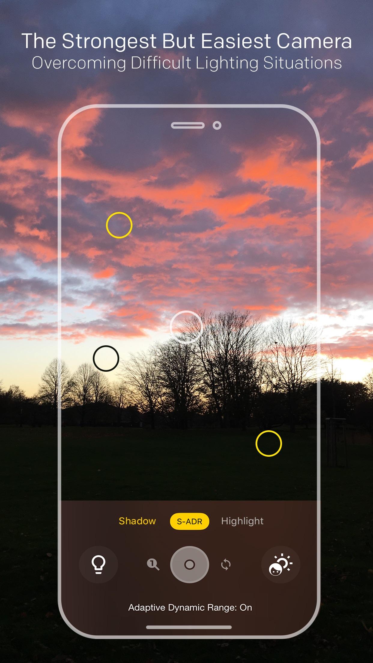 Screenshot do app Lightsynth