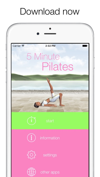 5 Minute Pilates Workouts screenshot-4