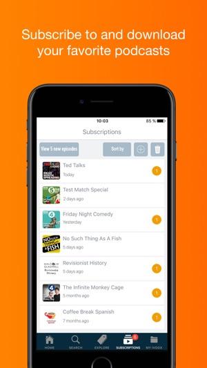 Radio & Podcast iVoox on the App Store