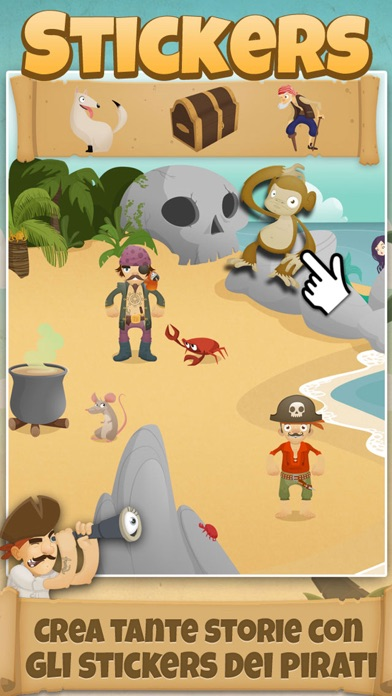 1000 Pirati per bambini