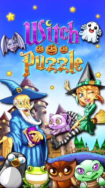 Witch Puzzle - Match 3 Game screenshot-4