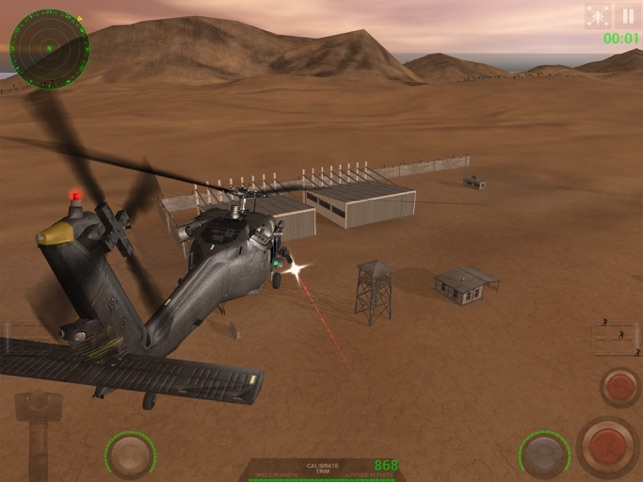 ‎Helicopter Sim Hellfire Screenshot
